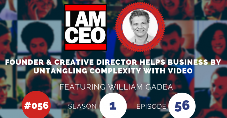 Photo of IAM056 – Founder & Creative Director Helps Business by Untangling Complexity with Video