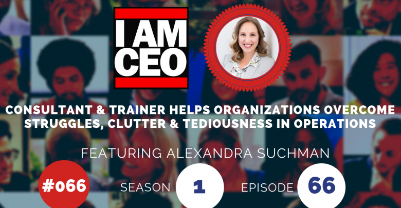 Photo of IAM066 – Consultant & Trainer Helps Organizations Overcome Struggles, Clutter & Tediousness in Operations