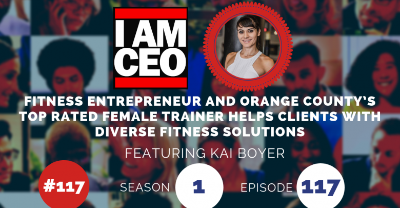 Photo of IAM117- Fitness Entrepreneur and Orange County's Top Rated Female Trainer Helps Clients With Diverse Fitness Solutions