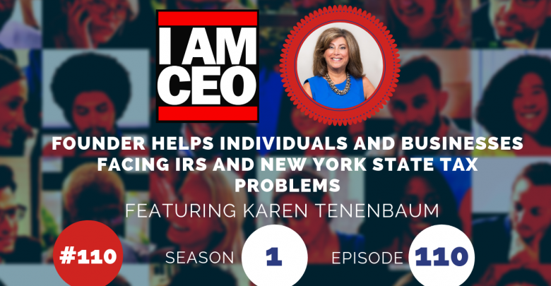 Photo of IAM110- Founder Helps Individuals and Businesses Facing IRS and New York State Tax Problems