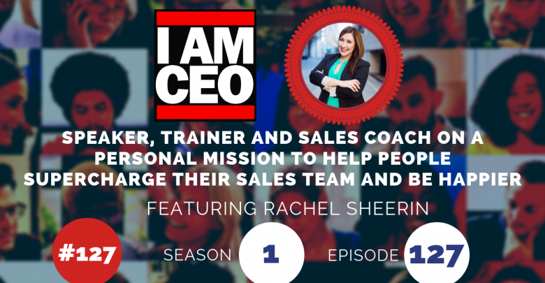Photo of IAM127- Speaker, Trainer and Sales Coach on a Personal Mission to Help People Supercharge Their Sales Team and Be Happier