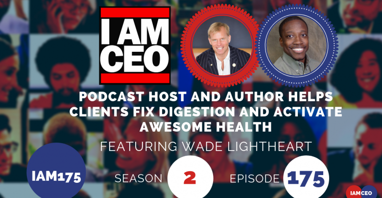 Photo of IAM175-Podcast Host and Author Helps Clients Fix Digestion and Activate Awesome Health