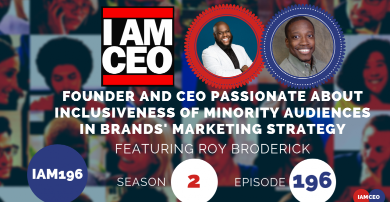 Photo of IAM196- Founder and CEO Passionate About Inclusiveness of Minority Audiences in Brand's Marketing Strategy