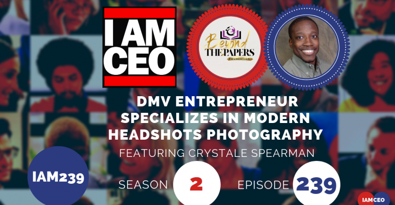 Photo of IAM239- DMV Entrepreneur Specializes in Modern Headshots Photography