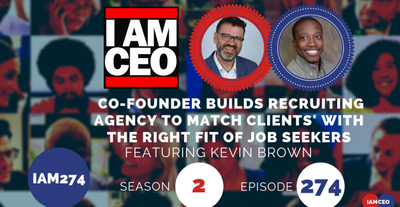 Photo of IAM274- Co-founder Builds Recruiting Agency Match Clients' With The Right Fit of Job Seekers
