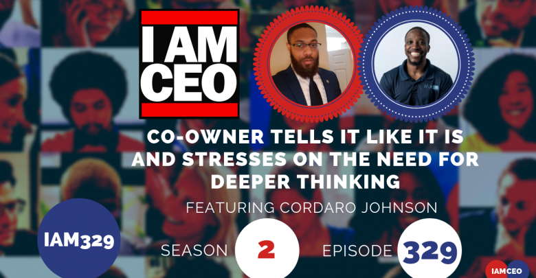 Photo of IAM329- Co-owner Tells It Like It Is and Stresses On The Need for Deeper Thinking