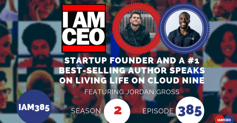 Photo of IAM385- Startup Founder and a #1 Best-selling Author Speaks on Living Life on Cloud Nine