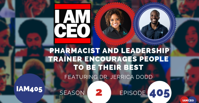 Photo of IAM405- Pharmacist and Leadership Trainer Encourages People To Be Their Best
