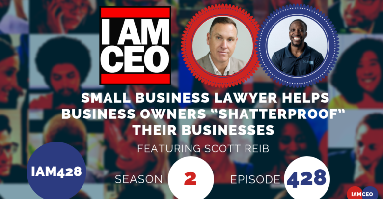 "Photo of IAM428- Small Business Lawyer Helps Business Owners ""Shatterproof"" Their businesses"