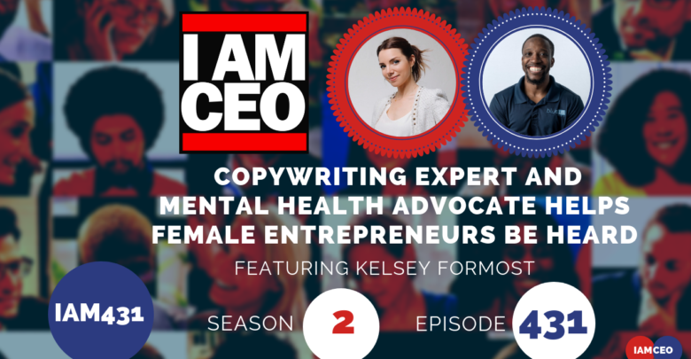 Photo of IAM431- Copywriting Expert and Mental Health Advocate Helps Female Entrepreneurs Be Heard