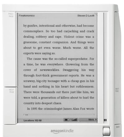 Photo of Technology and Writing- The Amazon Kindle