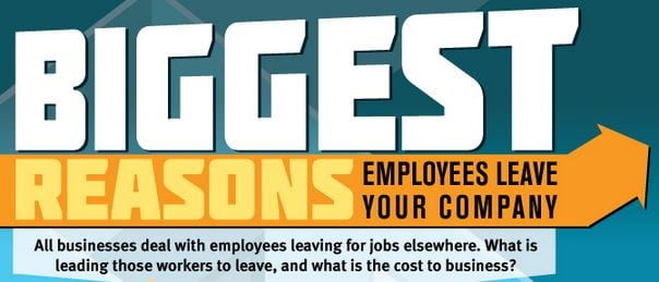 Photo of Biggest Reasons Why Employees Leave Your Company [INFOGRAPHIC]