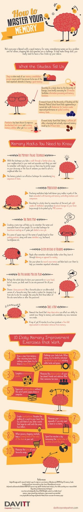 Photo of How to Master Your Memory [INFOGRAPHIC]