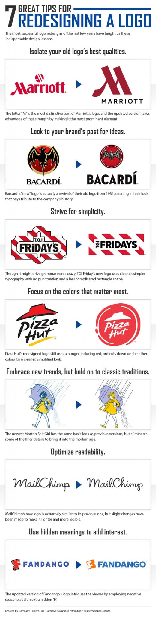 Photo of 7 Great Tips for Redesigning a Logo [INFOGRAPHIC]