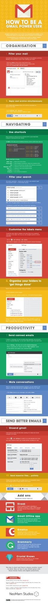 Photo of How To Be A Gmail Power User [INFOGRAPHIC]