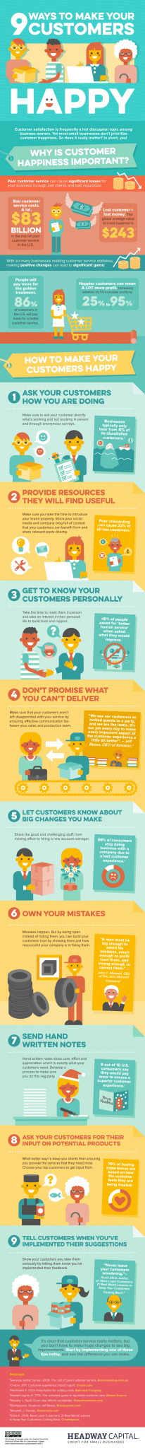 Photo of 9 Ways to Make Your Customers Happy [INFOGRAPHIC]