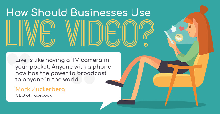 Photo of How Should Businesses Use Live Video? [Infographic]