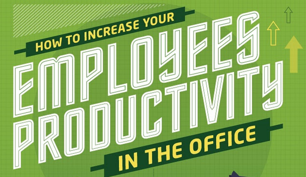 Photo of 5 Ways to Boost Your Employees' Productivity in the Workplace [Infographic]