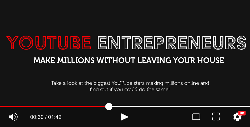 Photo of Youtube Entrepreneurs: Making Millions Without Leaving Your Home [INFOGRAPHIC]