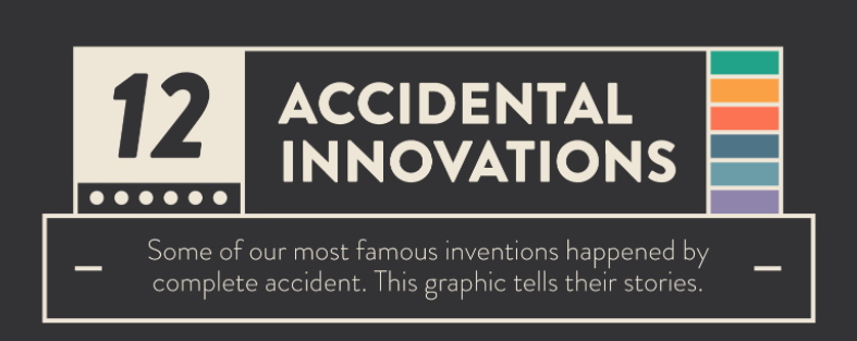 Photo of 12 Famous Accidental Innovations [INFOGRAPHICS]
