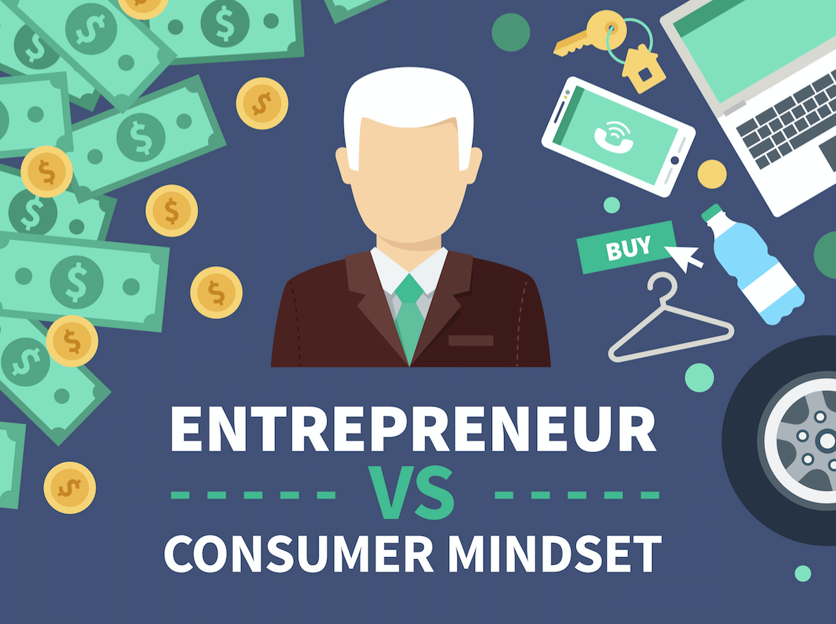 Photo of Entrepreneur v. Consumer Mindset [INFOGRAPHIC]