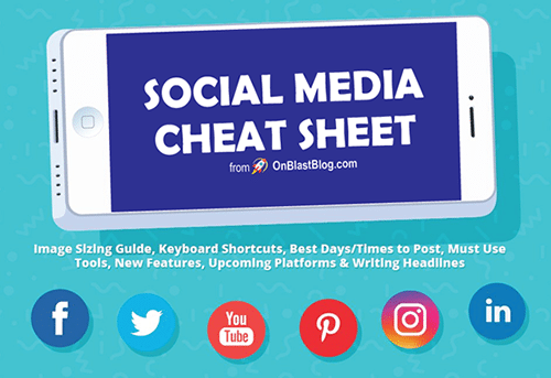 Photo of Social Media Cheat Sheet [Infographic]