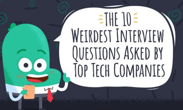 Photo of 10 Weirdest Interview Questions From Top Companies [Infographic]