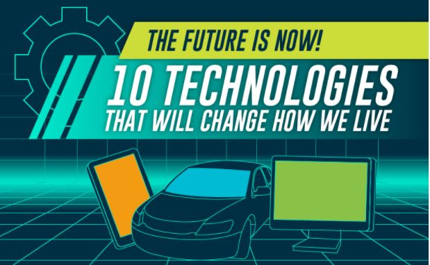 Photo of The Future is Now! 10 Technologies That Will Change How We Live {Infographic}
