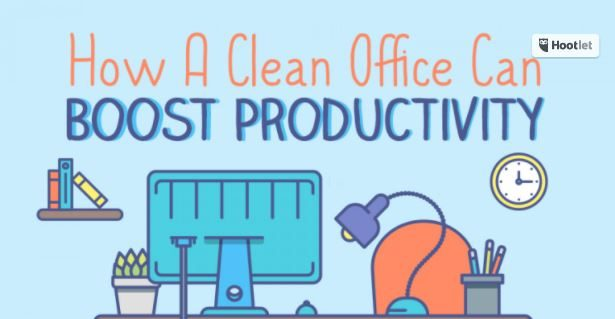 Photo of How a Clean Office Can Boost Your Productivity {Infographic}