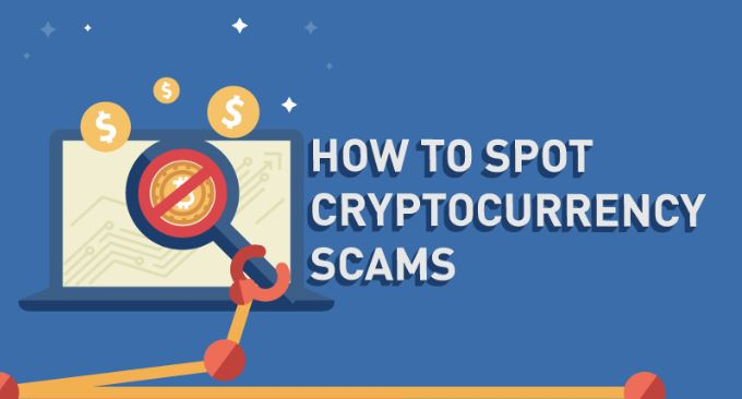 Photo of How to Spot Cryptocurrency Scams -{Inforgraphic}