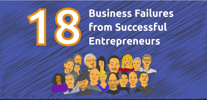Photo of 18 Brutal Business Failures From Billionaire Entrepreneurs-  [Infographic]