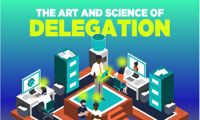 Photo of The Art and Science of Delegation- [Infographic]