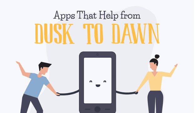 Photo of Apps that Help from Dusk to Dawn [Infographic]