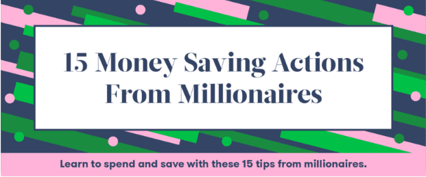 Photo of How to Save Money Like a Millionaire- [Infographic]