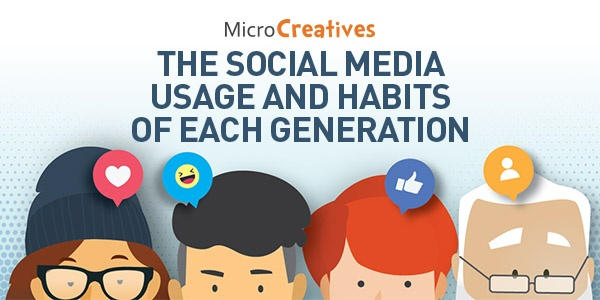 Photo of Social Media Usage and Statistics of Each Generation [Infographic]