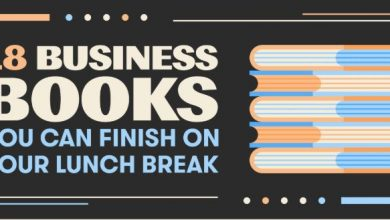 Photo of 18 Business Books You Should Read on Your Lunch Break- [Infographic]