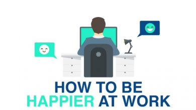 Photo of How To Be Happy at Work- [Infographic]