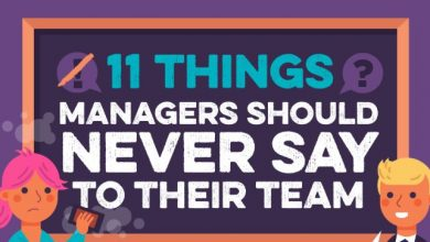Photo of 11 Things CEOs Should Never Say To Their Team (and what to say instead) – [Infographic]