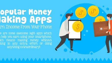 Photo of Popular Money Making Apps- [Infographic]