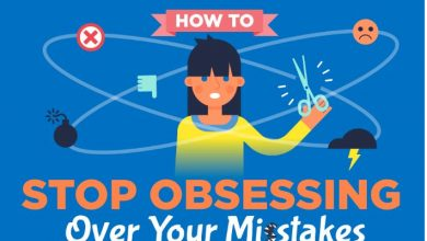 Photo of How to Quit Over-thinking Your Mistakes and Use Them to Your Advantage- [Infographic]