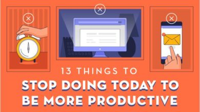 Photo of 13 Anti-productivity Habits You Need to Kick – [Infographic]