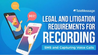 Photo of Legal and Litigation Requirements for Recording SMS and Capturing Voice Calls – [Infographic]