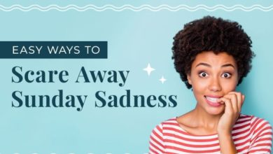 Photo of How to Beat Sunday Sadness – [Infographic]